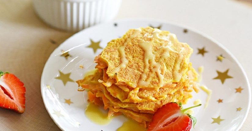 zdjęcie wpisu Fit Pancakes na słodko z dyni lub marchewki