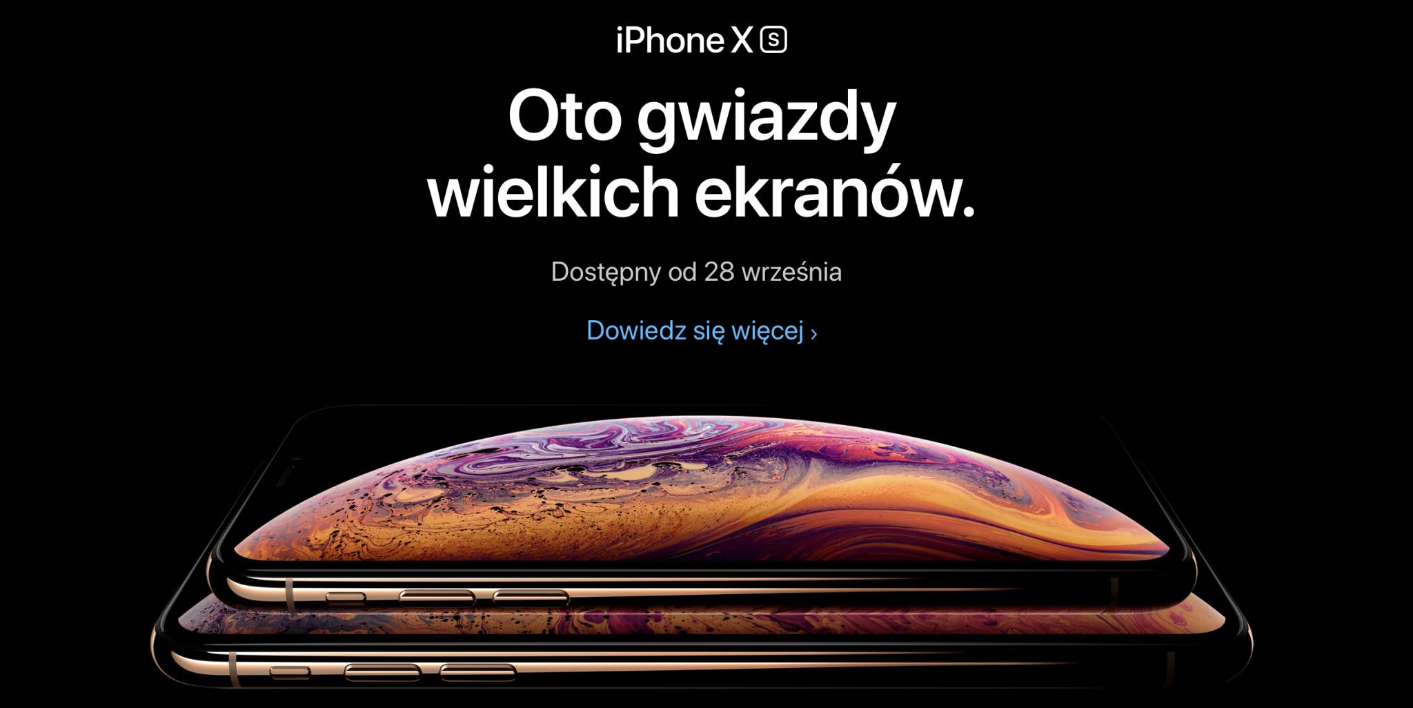 12 września miał miejsce coroczny Apple Special Event. Firma z Cupertino zaprezentowała swoje najnowsze produkty – iPhone Xs, iPhone Xs Max, iPhone Xr