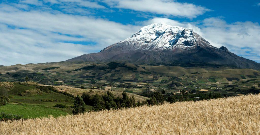 chimborazo - wulkan