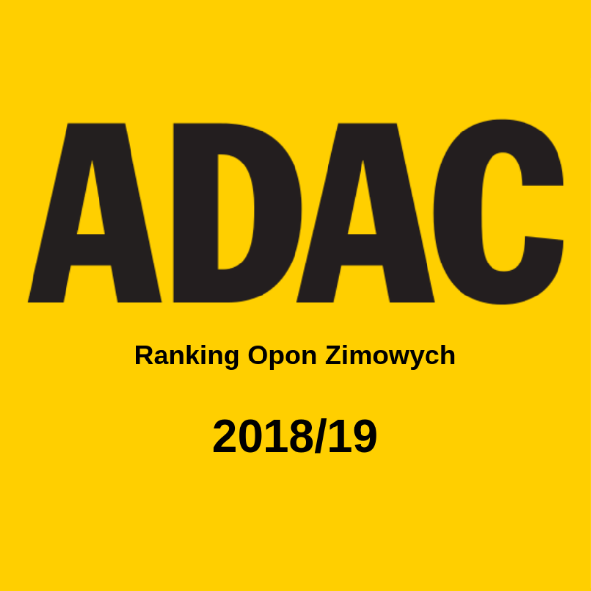 Opony Zimowe Adac Ranking 201819 Worldmasterpl
