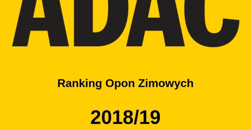 zdjęcie wpisu Opony zimowe: ADAC Ranking 2018/19