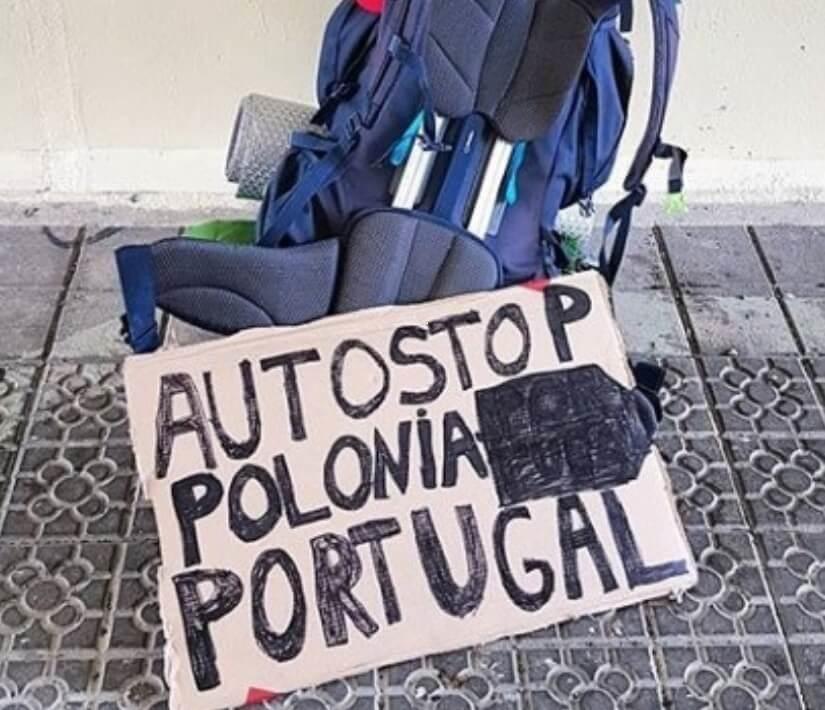 Cześć! Nazywam się Dominik, razem z moim znajomym Rafałem postanowiliśmy spełnić jedno ze swoich marzeń i pojechać autostopem do Portugalii i z powrotem.