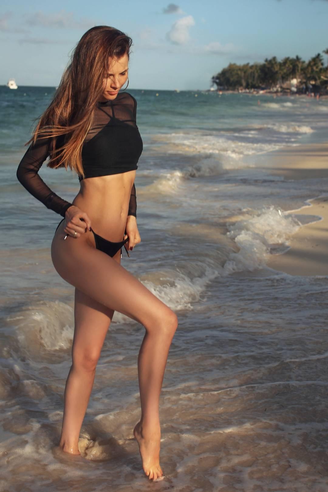 Czarne bikini PROMEES