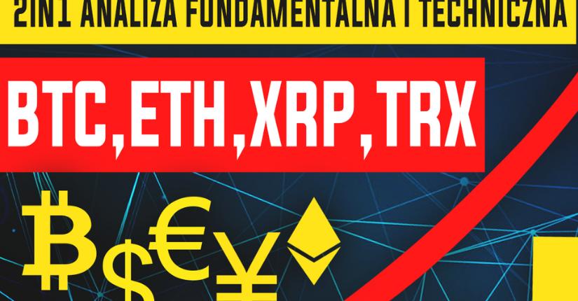 zdjęcie wpisu Analiza kryptowalut – Bitcoin, Ethereum, Ripple, Tron