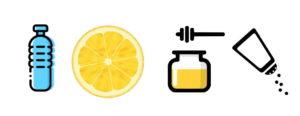 izotonik, domowy izotonik, napój