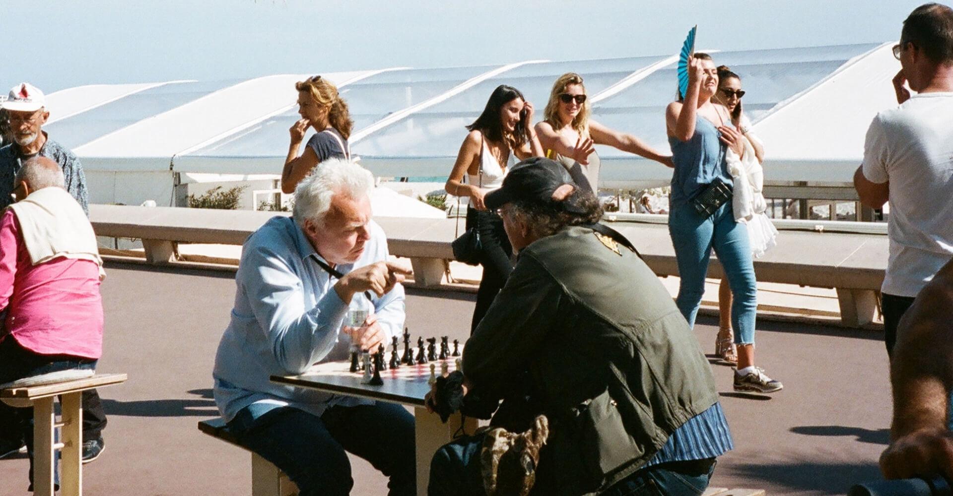 partia szachowa