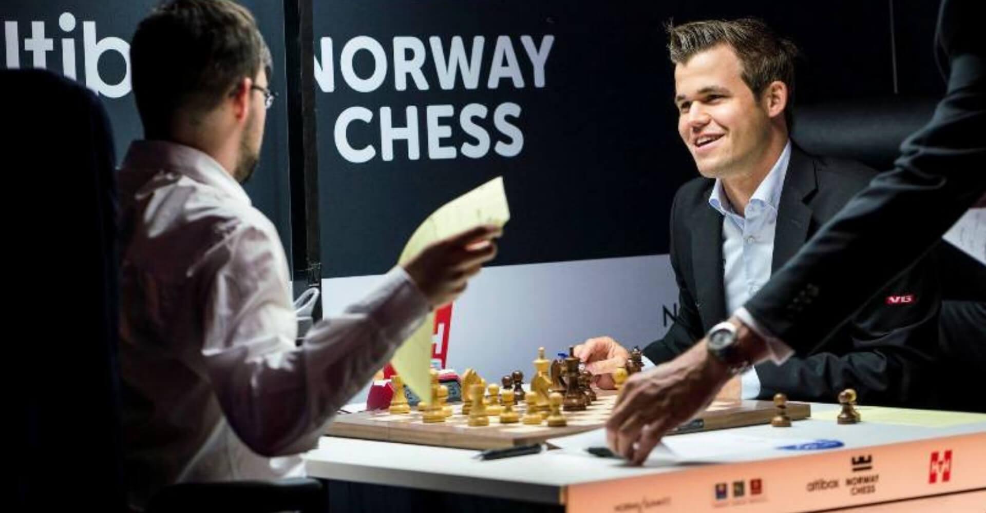 szachista Magnus Carlsen
