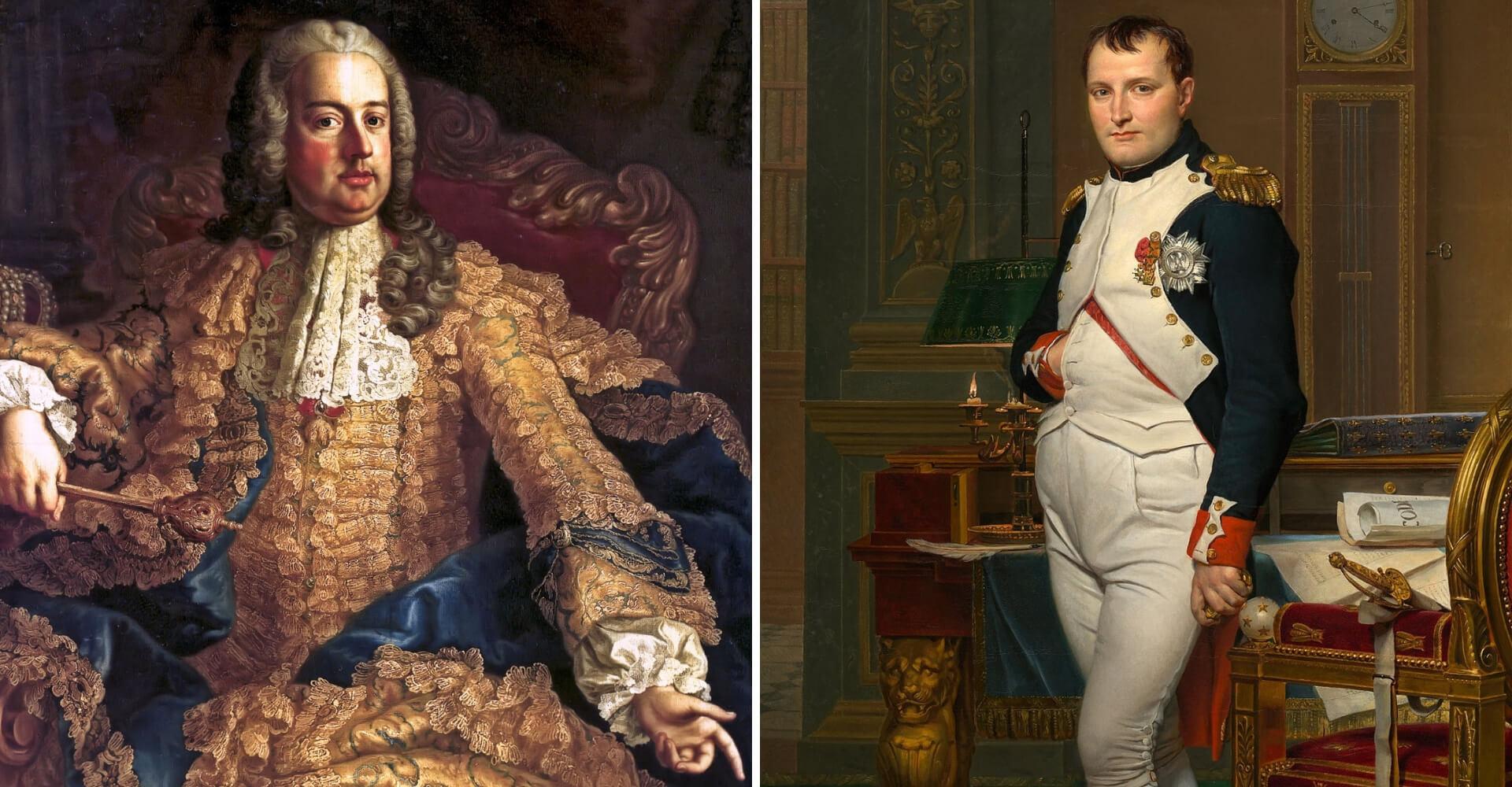 franciszek lotaryński i napoleon bonaparte - moda
