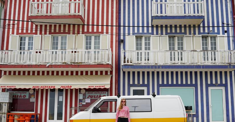 zdjęcie wpisu Costa Nova – niesamowite miejsce w Portugalii