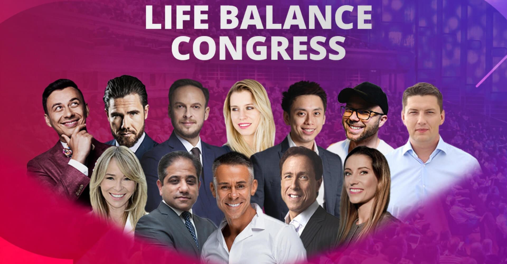 Kamil Sikora i Life Balance Congress