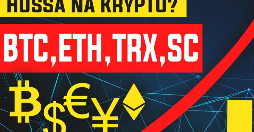 zdjęcie wpisu Analizujemy Bitocoina, ETH, TRX i Siacoin. Hossa?