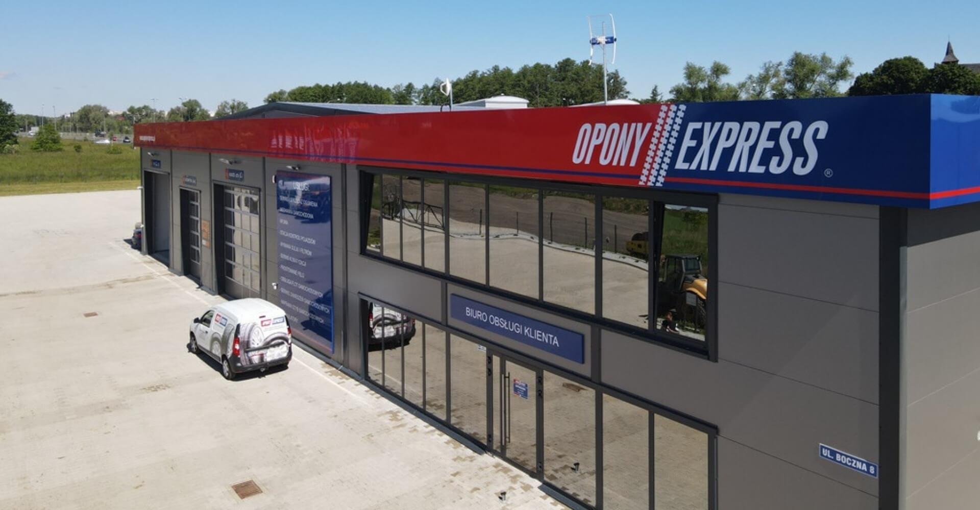 opony express lubin